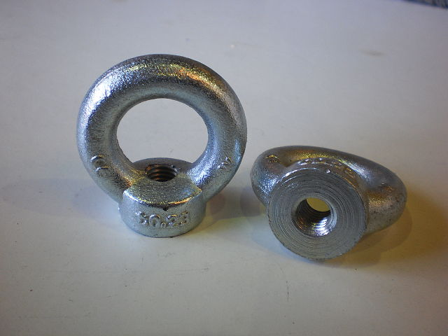 453 - RING NUT - Nuts M10 PLAT DIN582-C15