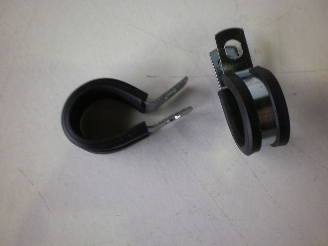 718 - RUBBER CLAMP - RUBBER CLAMPS 19MM