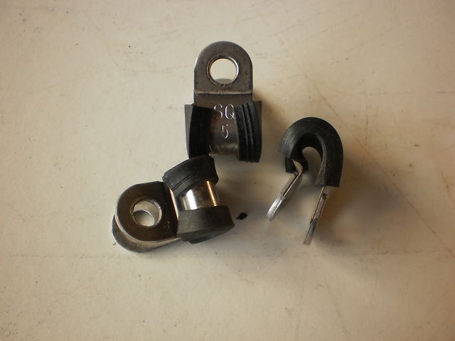 770 - RUBBER CLAMP - RUBBER CLAMPS 5MM