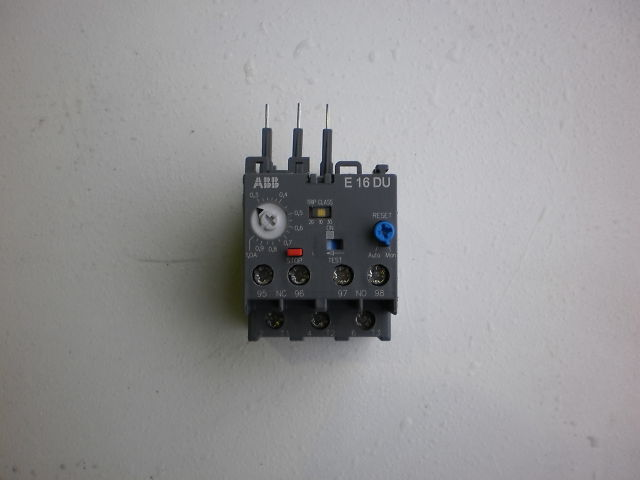 375 - THERMALRELAY E16DU 0,3-1,0A